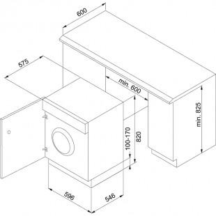 Franke Çamaşır Makinesi FWM-1400-7 EI