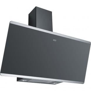 Franke Glass Linear Vertical FPJ 915 V BK A/SS Siyah 90'lık Cam Davlumbaz
