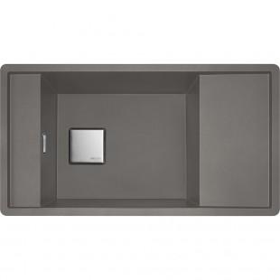 Franke Fresno FSG 611 Fragranite Stone Grey Tezgah Üstü Granit Evye
