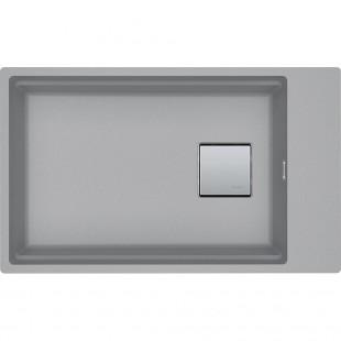 Franke Kubus 2 KNG 110-62 Fragranite Stone Grey Tezgah Altı Granit Evye