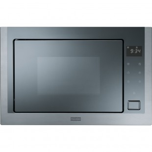 Franke Microwave Crystal FMW 250 CS2 G XS Stainless Steel-Mirror Glass Black Mikrodalga